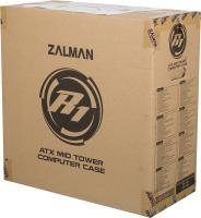 Корпус Zalman R1 черный без БП ATX 1x80mm 1x92mm 3x120mm 2xUSB2.0 1xUSB3.0 audio front door bott PSU