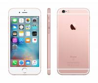 "Смартфон Apple MKQW2RU/A iPhone 6s 128Gb розовый/золотистый моноблок 3G 4G 1Sim 4.7"" 750x1334 iPhone iOS 9 12Mpix WiFi GSM900/1800 GSM1900 TouchSc MP3 A-GPS"