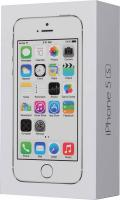 "Смартфон Apple ME433RU/A iPhone 5s 16Gb серебристый моноблок 3G 4G 4"" 640x1136 iPhone iOS 7 8Mpix WiFi BT GSM900/1800 GSM1900 TouchSc MP3 A-GPS"