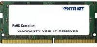 Память DDR4 16Gb 2400MHz Patriot PSD416G24002S RTL PC4-19200 CL17 SO-DIMM 260-pin 1.2В dual rank