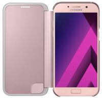 Чехол (флип-кейс) Samsung для Samsung Galaxy A7 (2017) Clear View Cover розовый (EF-ZA720CPEGRU)
